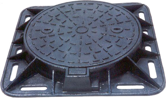 Manhole Cover And Frame For Different Continents Cover